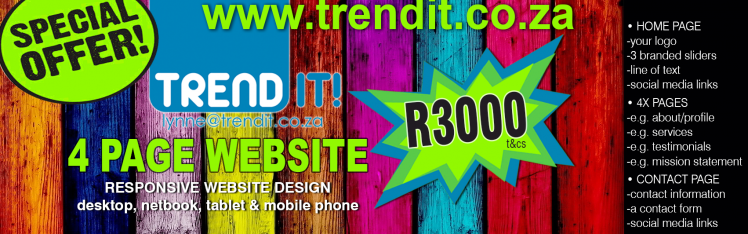 TRENDit Website SPECIAL